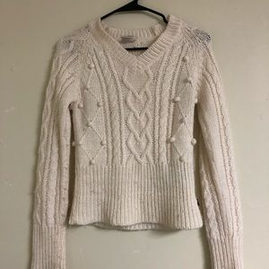 Tommy Hilfiger cable knit bobble sweater